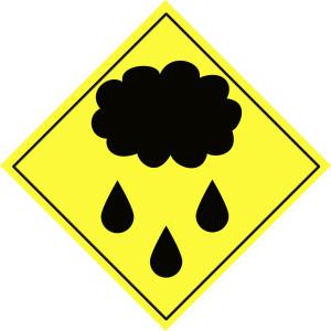Rain-warning