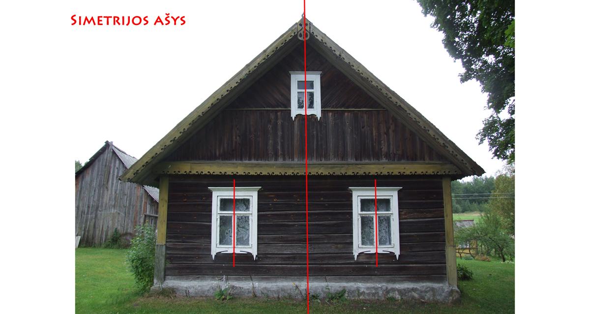 simetrijos ašys
